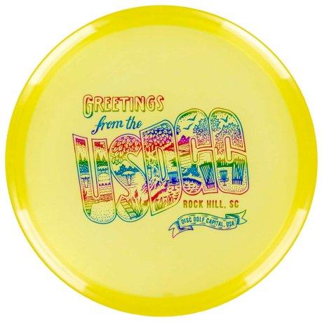 USDGC Postcard Roc Luster Yellow
